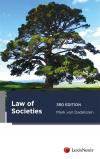 Law of Societies, 3rd edition cover