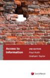 Access to Information, 2nd edition cover