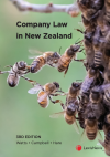 Company Law in New Zealand, 3rd edition cover
