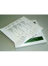 Matter File Labels with Alignment Guide cover