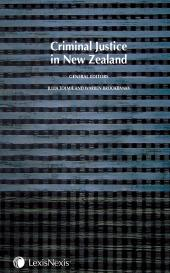 Criminal Justice in New Zealand cover