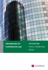 Introduction to Commercial Law, 5th edition  cover