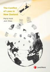 The Conflict of Laws in New Zealand cover