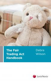 The Fair Trading Act Handbook (eBook) cover