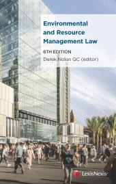 Environmental and Resource Management Law, 6th edition cover