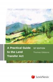 A Practical Guide to the Land Transfer Act (eBook) cover