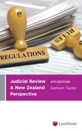 Judicial Review: A New Zealand Perspective, 4th edition  cover