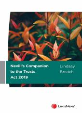 Nevill's Companion to the Trusts Act 2019 cover