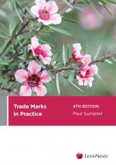 Trade Marks in Practice, 4th edition  cover