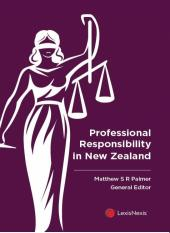 Professional Responsibility in New Zealand cover