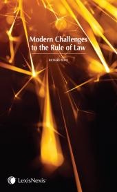 Modern Challenges to the Rule of Law cover