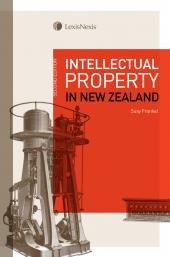 Intellectual Property in New Zealand, 2nd edition (eBook) cover