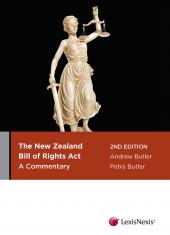 The New Zealand Bill of Rights Act: A Commentary, 2nd edition cover