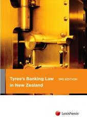 Tyree's Banking Law in New Zealand, 3rd edition cover