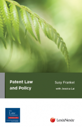 Patent Law and Policy cover