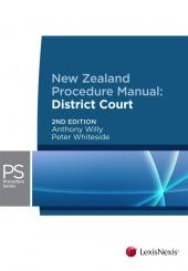 New Zealand Procedure Manual: District Courts, 2nd edition cover