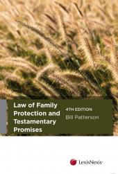 Law of Family Protection and Testamentary Promises, 4th edition (eBook) cover