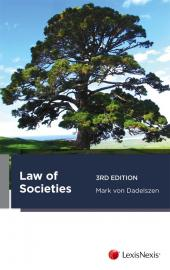 Law of Societies, 3rd edition (eBook) cover