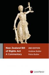 The New Zealand Bill of Rights Act: A Commentary, 2nd edition (eBook) cover