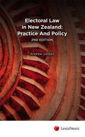 Electoral Law in New Zealand: Practice and Policy, 2nd edition (eBook) cover