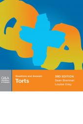 Questions and Answers: Torts, 3rd edition (eBook) cover