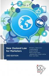 New Zealand Law for Marketers, 2nd Edition cover