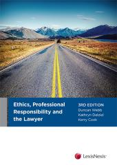Ethics, Professional Responsibility and the Lawyer, 3rd edition cover