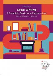 Legal Writing: A Complete Guide for a Career in Law cover