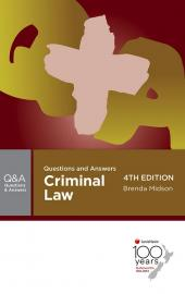 Questions and Answers Criminal Law, 4th edition  cover