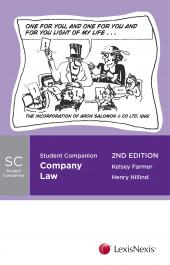 Student Companion: Company Law, 2nd edition cover