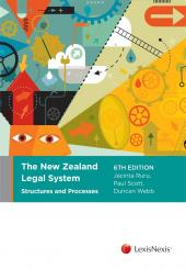 The New Zealand Legal System: Structures and Processes, 6th edition  cover