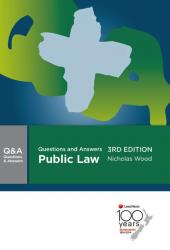 Questions and Answers: Public Law, 3rd edition (eBook) cover