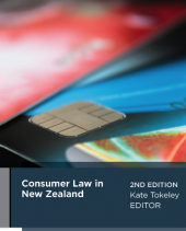 Consumer Law in New Zealand, 2nd edition (eBook) cover