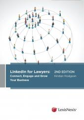 LinkedIn for Lawyers: Connect, engage and grow your business, 2nd edition (eBook) cover