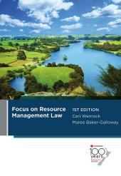Focus on Resource Management Law cover