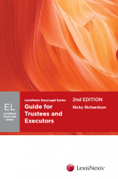 Guide for Trustees and Executors, 2nd edition cover