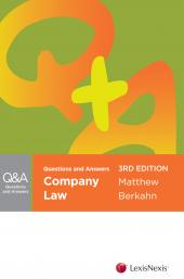 Questions and Answers: Company Law, 3rd edition cover