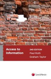 Access to Information, 2nd edition (eBook) cover