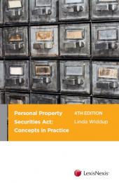 Personal Property Securities Act: Concepts in Practice, 4th edition cover