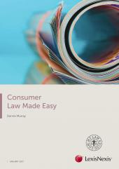 Consumer Law Made Easy 2017 cover