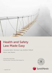 Health and Safety Law Made Easy 2017 cover
