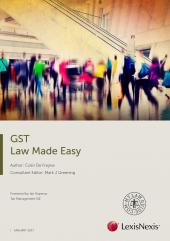 GST Law Made Easy 2017 cover