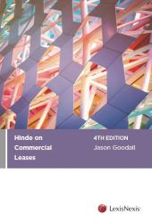 Hinde on Commercial Leases, 4th edition cover