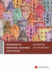 McMorland on Easements, Covenants and Licences, 4th edition cover