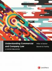 Understanding Commercial & Company Law (a custom publication) 2019 edition cover