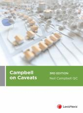 Campbell on Caveats, 3rd edition cover