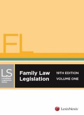 Family Law Legislation, 19th edition cover