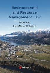 Environmental and Resource Management Law, 7th edition cover