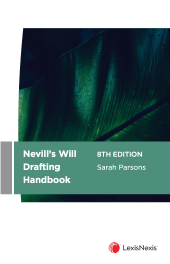 Nevill's Will Drafting Handbook, 8th edition cover