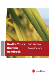 Nevill's Trusts Drafting Handbook, 3rd edition (eBook) cover